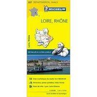 Michelin Wegenkaart 327 Loire Rhône
