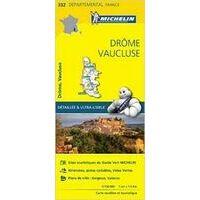 Michelin Wegenkaart 332 Drôme Vaucluse
