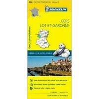 Michelin Wegenkaart 336 Gers Lot-et-Garonne
