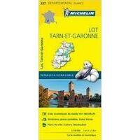 Michelin Wegenkaart 337 Lot Tarn-et-Garonne