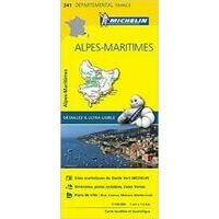 Michelin Wegenkaart 341 Alpes-Maritimes