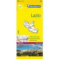 Michelin Wegenkaart 360 Lazio Latium