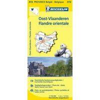 Michelin Wegenkaart 372 Oost-Vlaanderen