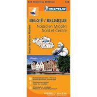 Michelin Wegenkaart 533 Noord - En Midden-België