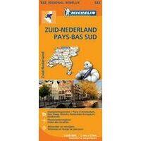 Michelin Wegenkaart 534 Zuid-België Ardennen