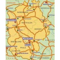 Michelin Wegenkaart 543 Duitsland Midden-West