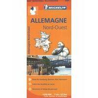 Michelin Wegenkaart 541 Duitsland Noordwest