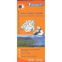 Michelin Wegenkaart 552 Zwitserland Zuidwest