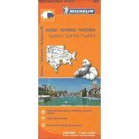 Michelin Wegenkaart 553 Zwitserland Zuidoost
