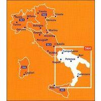 Michelin Wegenkaart 564 Italië Zuid