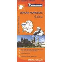 Michelin Wegenkaart 571 Galicië