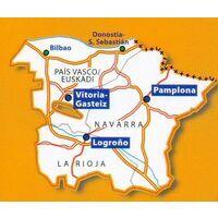 Michelin Wegenkaart 573 Baskenland, Navarra & Rioja