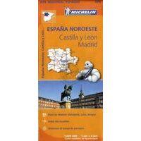 Michelin Wegenkaart 575 Noordwest-Spanje