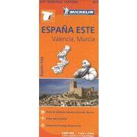 Michelin Wegenkaart 577 Valencia & Murcia