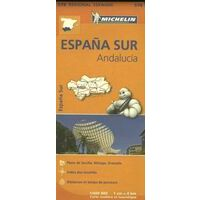 Michelin Wegenkaart 578 Andalusië