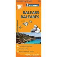 Michelin Wegenkaart 579 Balearen