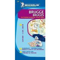 Michelin Stadsplattegrond Brugge