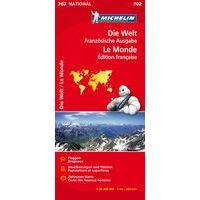 Michelin Kaart 702 De Wereld