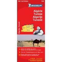 Michelin Wegenkaart 743 Algerije Tunesië