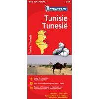 Michelin Wegenkaart 744 Tunesië
