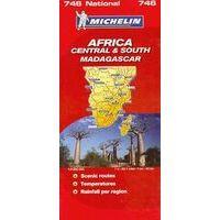 Michelin Landkaart 746 Centraal- En Zuidelijk Afrika