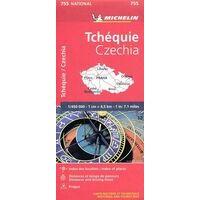Michelin Wegenkaart 755 Tsjechië