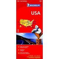 Michelin Wegenkaart 761 USA