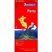 Michelin Wegenkaart 763 Peru