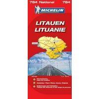 Michelin Wegenkaart 784 Litouwen