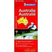 Michelin Wegenkaart Australië