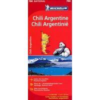 Michelin Wegenkaart 788 Chili & Argentinië