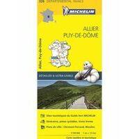Michelin Wegenkaart Allier Puy-de-dome 326