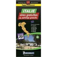 Michelin Camperkaart Italië Aires Gratuites