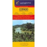 Cartographia Wegenkaart Congo Democratische Republiek 1:3.300.000