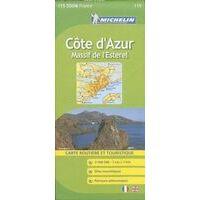 Michelin Wegenkaart 115 Cote D'Azur