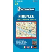 Michelin Stadsplattegrond Florence