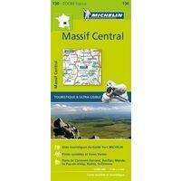 Michelin Wegenkaart 130 Centraal Massief