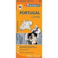 Michelin Wegenkaart 592 Midden-Portugal