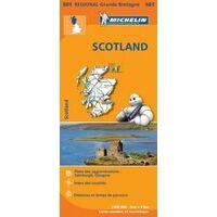 Michelin Wegenkaart 501 Schotland