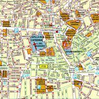 Michelin Stadsplattegrond Granada 1:8.500