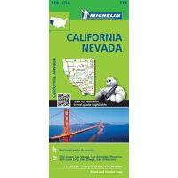 Michelin Wegenkaart 174 Californië