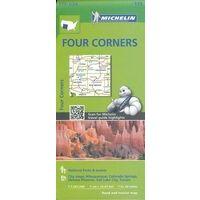 Michelin Wegenkaart 175 Four Corners