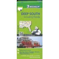 Michelin Wegenkaart 177 Deep South & Florida
