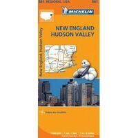 Michelin Wegenkaart 581 New England - Hudson Valley