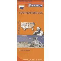 Michelin Wegenkaart 584 Southeastern USA