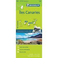 Michelin Wegenkaart Canarische Eilanden 125 1:150.000