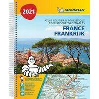 Michelin Wegenatlas Frankrijk 2021