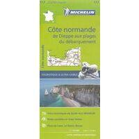 Michelin Wegenkaart 117 Côte Normande