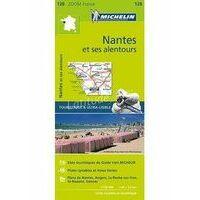 Michelin Wegenkaart 128 Nantes En Omgeving