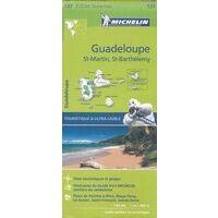 Michelin Wegenkaart 137 Guadeloupe